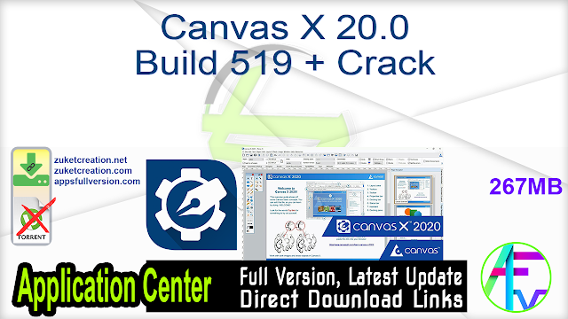 Canvas X 20.0 Build 519 + Crack