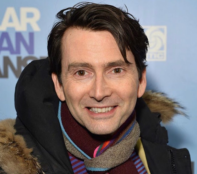 David Tennant at the Press Night of the musical Dear Evan Hansen - Tuesday 19th November 2019
