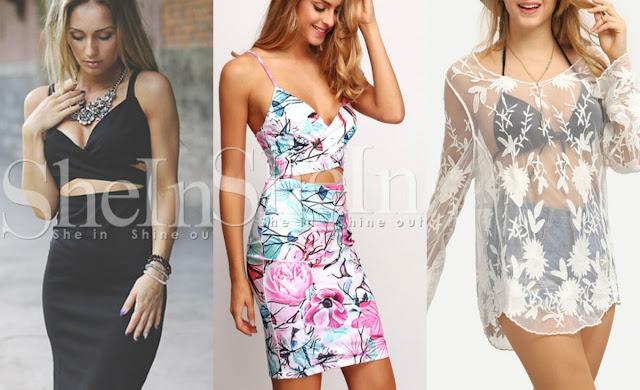 modne sukienki wiosna 2016, seksowne narzuty