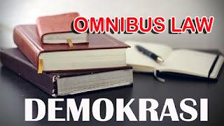 Fenomena Omnibus Law UU Cipta Kerja Dalam Wajah Demokrasi