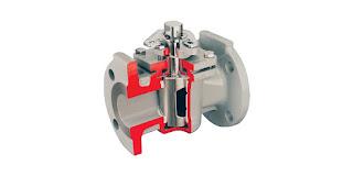 plug valve cutaway view