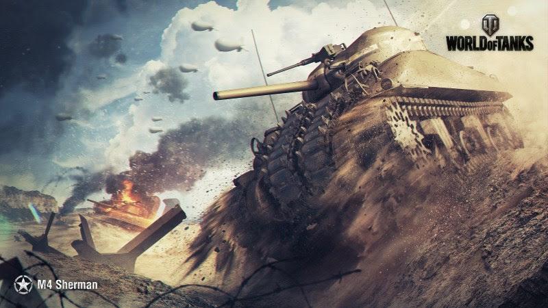 World Of Tanks (M4 Sherman)