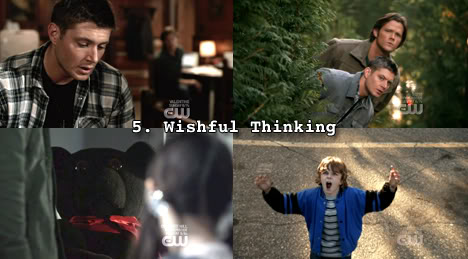 Supernatural: Top 5 Season Four Episodes (4x08 'Wishful Thinking') by freshfromthe.com