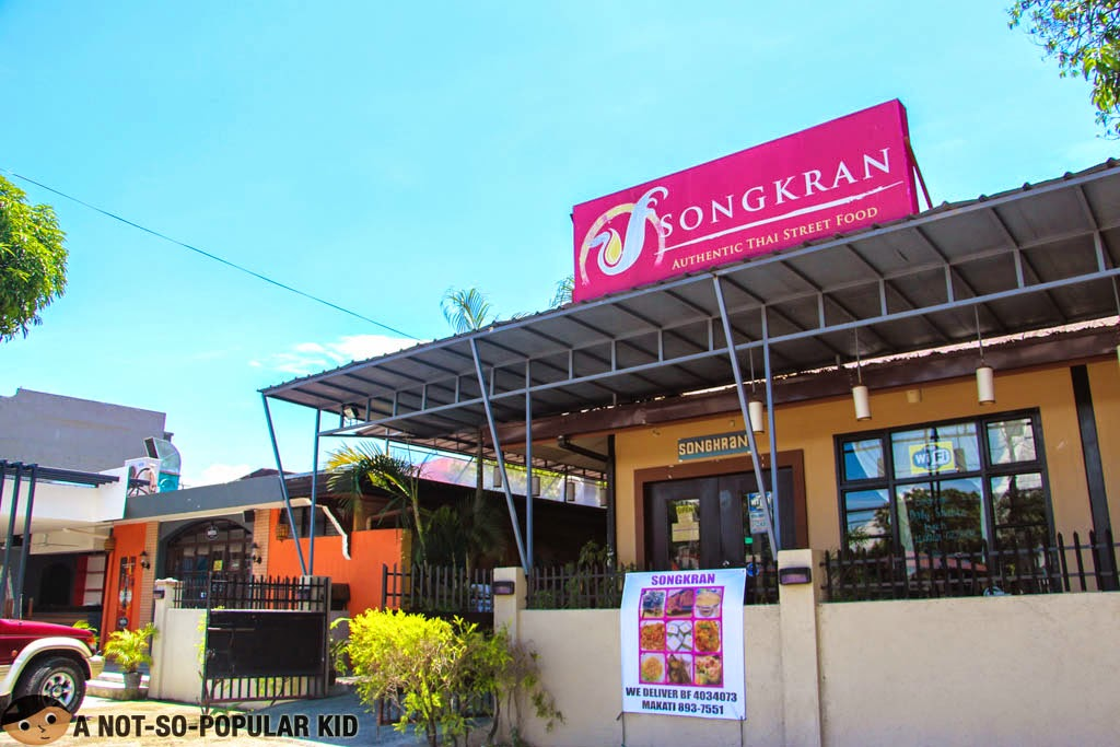 Songkran Thai Restaurant in the foodie neighborhood of BF Homes