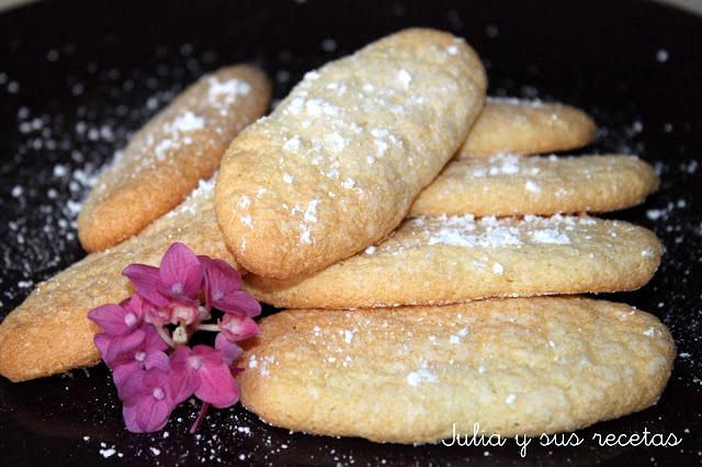 Bizcochos de soletilla sin gluten. Julia y sus recetas