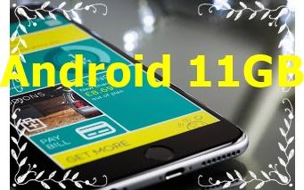 تم إصدار Android 11GB اليوم وسيطلق التطبيقات بنسبة 20٪ أسرع