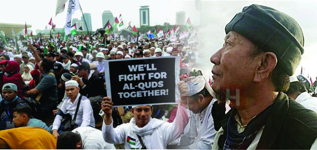 Subhanallah…Terinspirasi Aksi 212, Coey Lian Ternyata Sudah Masuk Islam dan Bela Palestina
