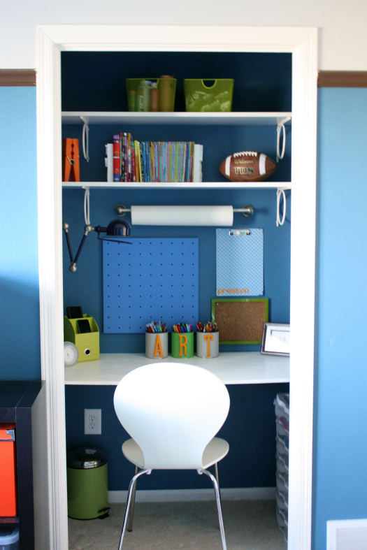 Awesome You Can Find All The Details, Sources And Links On The Master Bedroom Closet  Workspace Here On My Blog, And Here Is The Link To The Original Reveal Of  Our ...