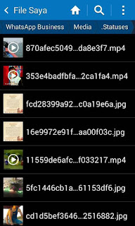 Cara Download, Simpan Foto Video Story Whatsapp Tanpa Aplikasi