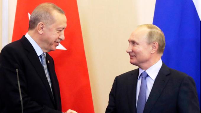 Erdogon Putin Kembali Sepakati Gencatan Senjata Di IdIib