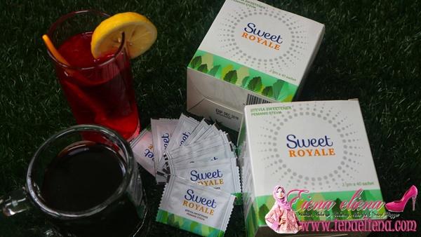 SweetRoyale Pemanis Stevia dari Pharmaniaga