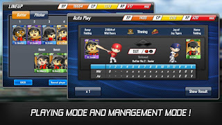Download Baseball Star MOD v1.1.4 Apk (Unlimited Autoplay Point/Free Training) Terbaru 2016 2
