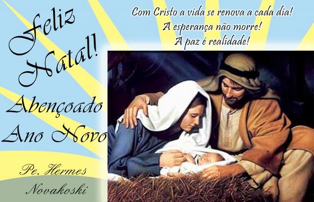 Mensagem De Feliz Ano Novo Para Tio Que Deus Abençoe Toda: EU O SOU: Feliz Natal! Abençoado Ano Novo
