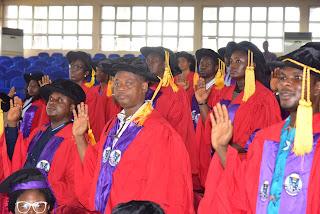 FUTA Matriculates 2,208 PG Students for 2019/2020 Session