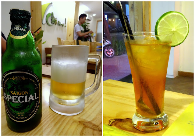 Saigon Special Beer - Chao Em! Viet Bistro in Ben Thanh, Ho Chi Minh City