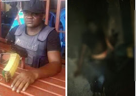 Photo Of One Of The Officers Killed In Clash Between Navy And Police In Cross River State