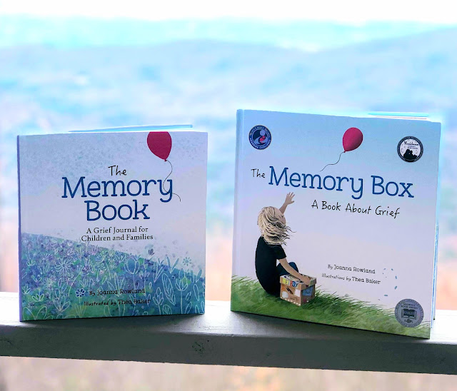 The Memory Book and The Memory Box by Joanna Rowland