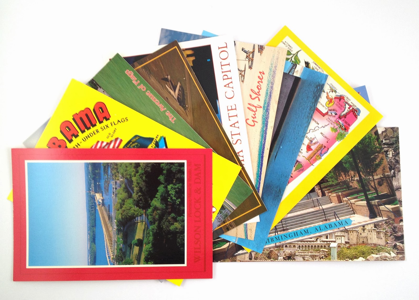 postmarked with love : vintage postcard packs