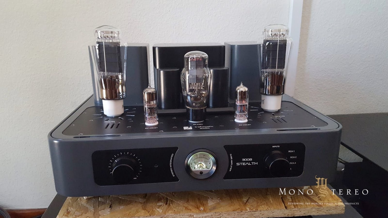 Trafomatic Audio 300B STEALTH amplifier story - Review Mono & Stereo