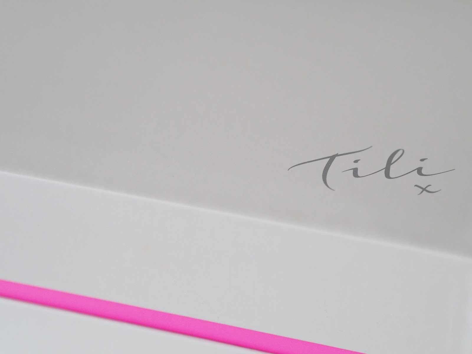 TILI beauty box review QVC makeup