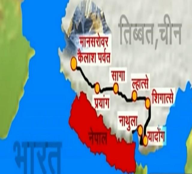 कैलाश मानसरोवर की यात्रा के समय में कटौती करने के लिए नया सड़क मार्ग