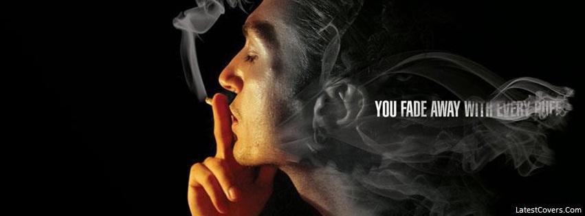 You Fade Away Smoking Boy Facebook Cover Facebook Profile Timeline