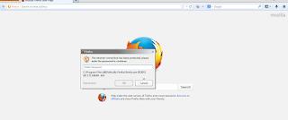 Browser tidak bisa internet