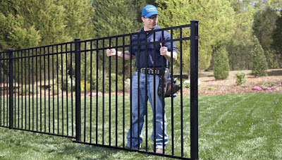 Aluminum Ornamental Fence Installation Instructions Guide