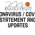 Basketball Manitoba Statement on the Coronavirus (COVID-19) Affect on Basketball Operations in Manitoba - Updated April 29