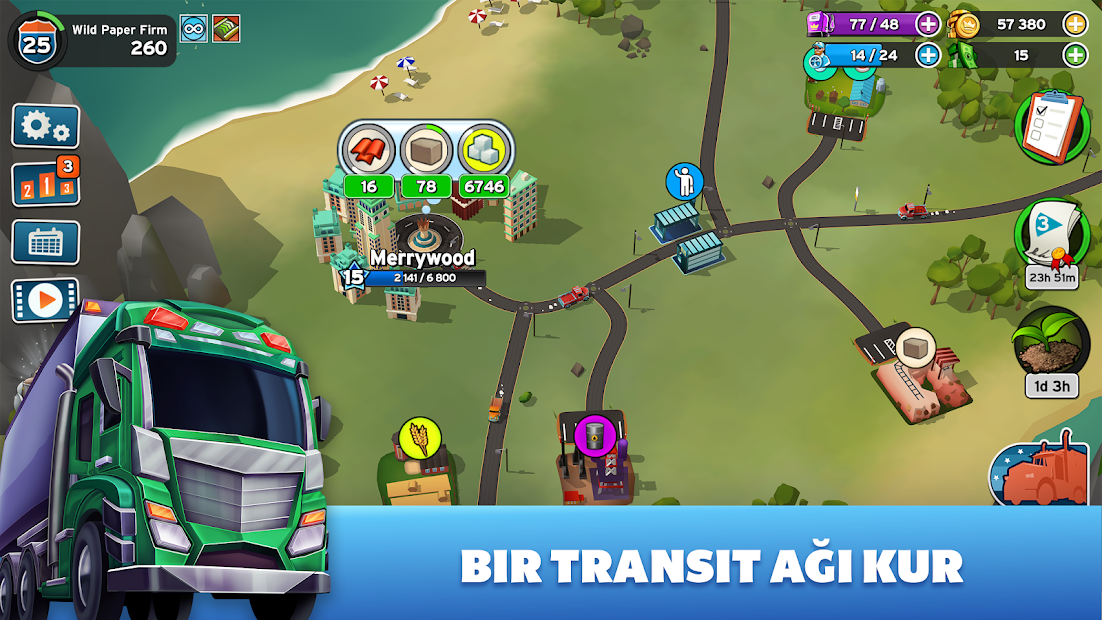 Transit King Tycoon Hileli APK - Para Hileli APK