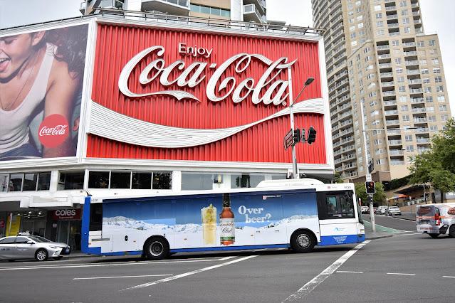 Vintage Coca-Cola Sign in Potts Point  | Sydney Public Art