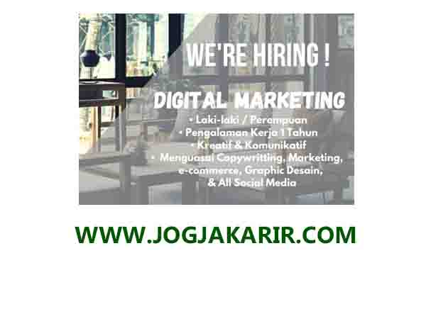 Lowongan Kerja Digital Marketing Lulusan Sma Smk Di Jogja Portal Info Lowongan Kerja Jogja Yogyakarta 2021
