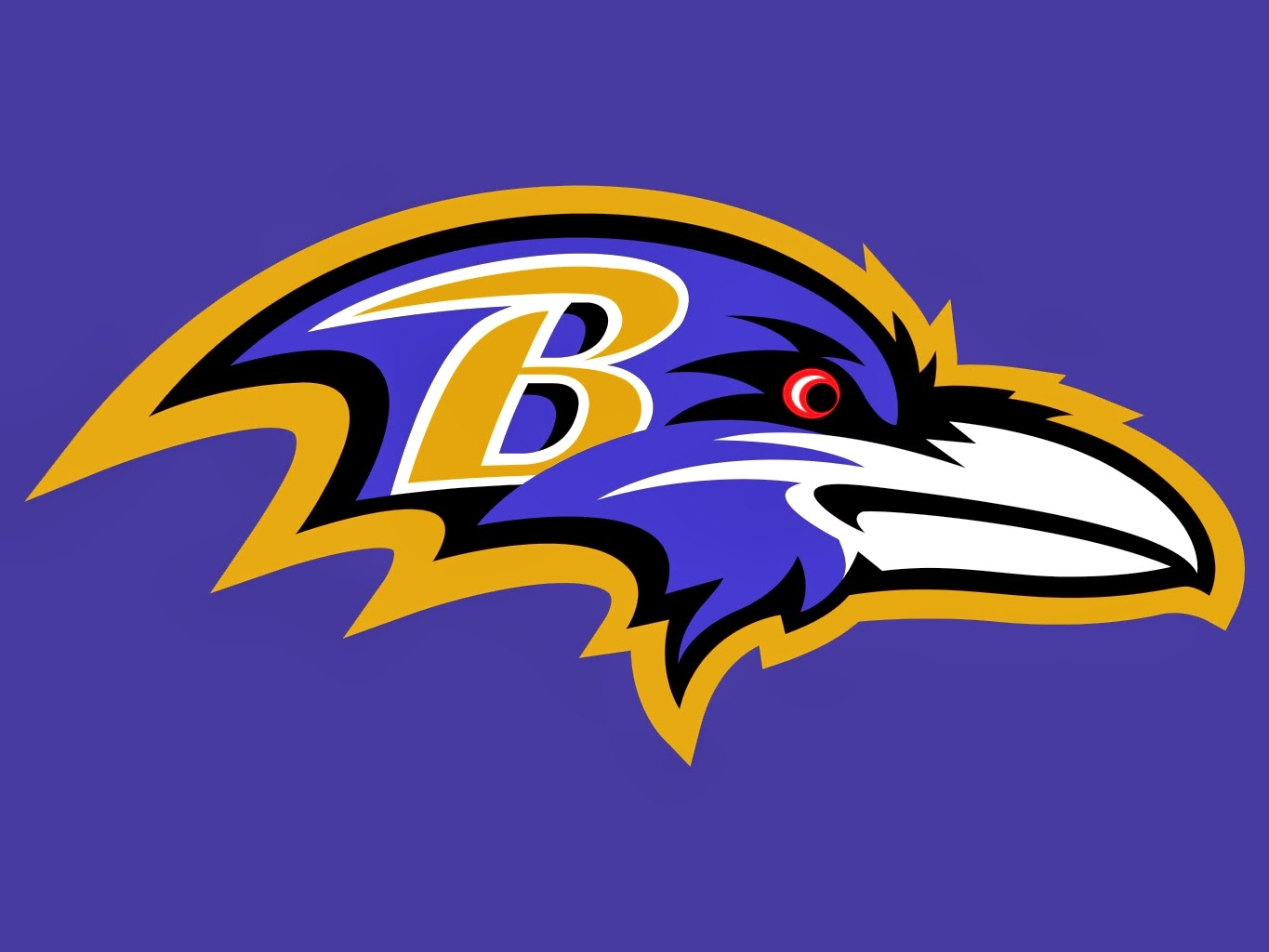 Raven Football Symbol Baltimore Ravens Logo