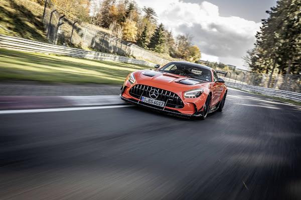 Mercedes-AMG GT Black Series é o mais rápido carro de série em Nürburgring-Nordschleife