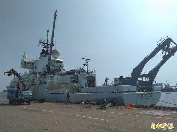 Tàu hải quân Mỹ cập cảng Đài Loan
