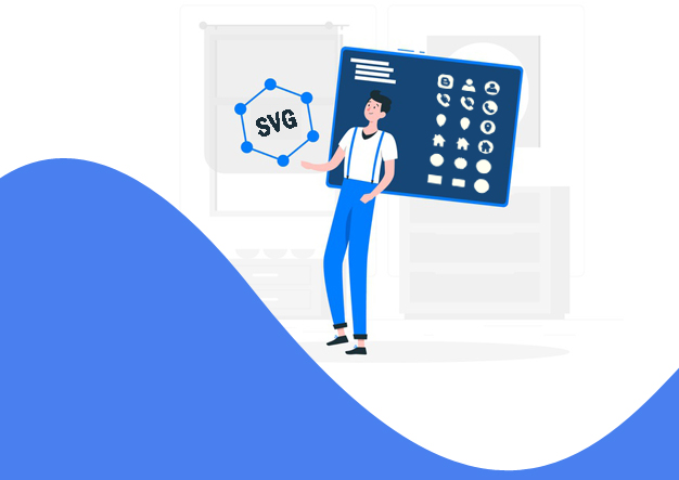Daftar Data Icon SVG Standar dari Template Blogspot