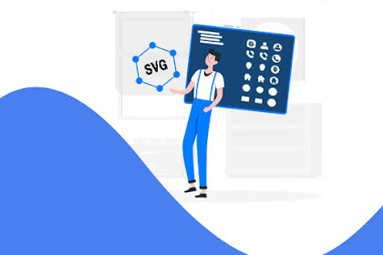 Daftar Data Icon SVG Standar di Template Blogger