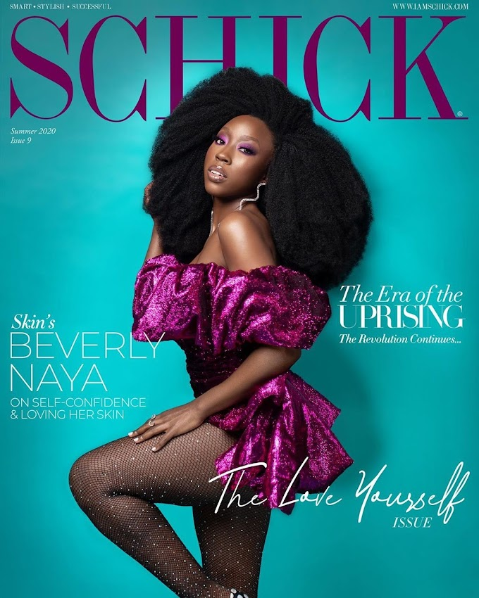 Beverly Naya Is Schick Magazine's August Issue Cover Girl. See Photos.