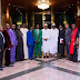 Photos: President Buhari receives Northern Christian Leaders at the State house