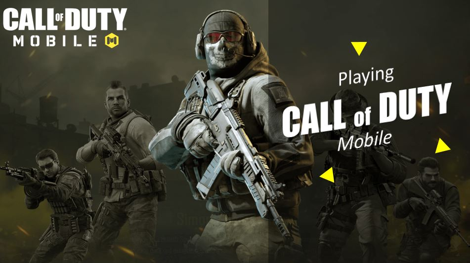 Playing Call of Duty Mobile