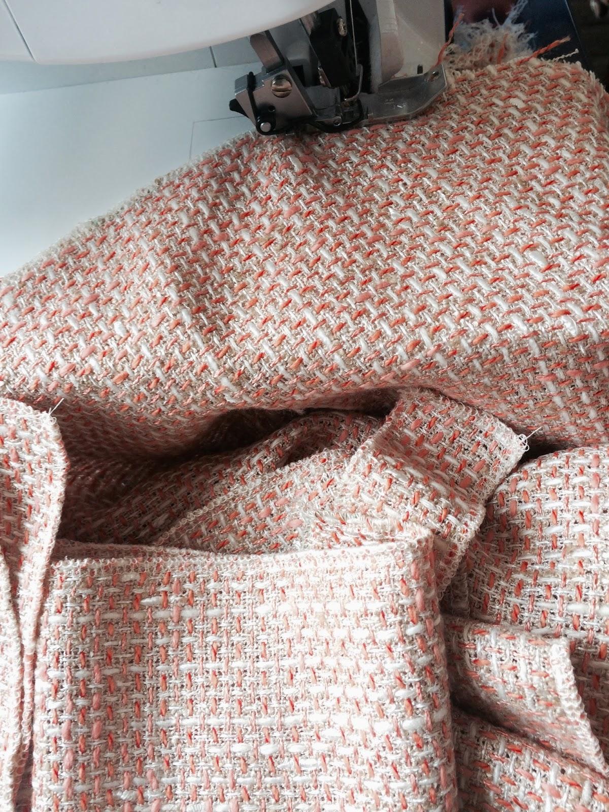 petite veste en tweed comptoir de paname. Black Bedroom Furniture Sets. Home Design Ideas
