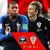 Perancis vs Kroasia
