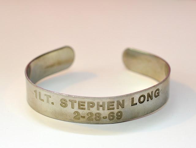 POW bracelet from Viet Nam war