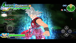 DBZ Ragging Blast 2 PSP Gameplay