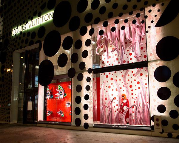 Topshop Oxford Street Curved Window Display | Window ... |Curved Line Display Visual Merchandising