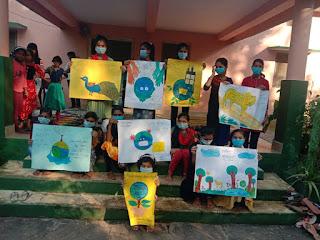 वन परीक्षेत्र बटकाखापा में वन्य प्राणी संरक्षण सप्ताह दिवस मनाया गया