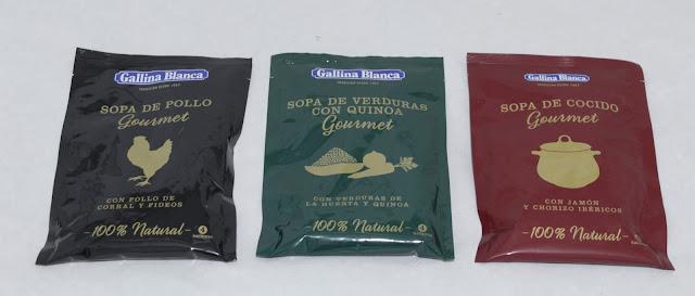 Gourmet sopa Gallina Blanca