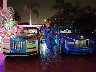 Mr E-Money buys a  new Rolls Royce for himself just after buying for his wife 2day ago