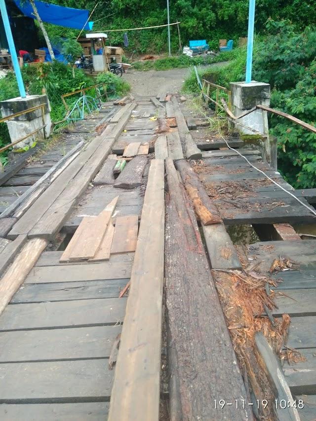 Bupati Respon Pembangunan Jembatan Ikan Banyak