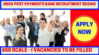 india post payment bank recruitment apply online